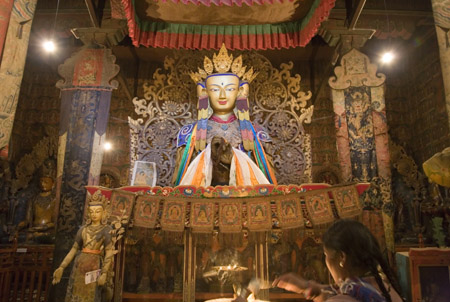 Sublime shrine in Palchoi Monastery 4- Gyangtse Tibet